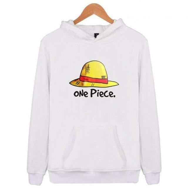 Boutique One Piece Sweat Blanc / XXS Sweat One Piece Chapeau de Paille