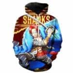 Boutique One Piece Sweat 3XL Sweat One Piece L'Empereur Shanks Le Roux