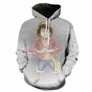 Boutique One Piece Sweat XL Sweat One Piece Le Fils de Monkey D Dragon