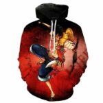 Boutique One Piece Sweat M Sweat One Piece Le Prochain Roi des Pirates Luffy
