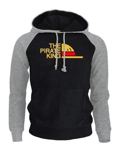 Boutique One Piece Sweat Gris Noir / S Sweat One Piece Le Roi des Pirates