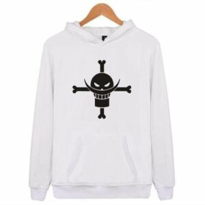 Boutique One Piece Sweat Blanc / XXS Sweat One Piece Logo Barbe Blanche