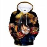 Boutique One Piece Sweat XXS Sweat One Piece Luffy au Chapeau de Paille