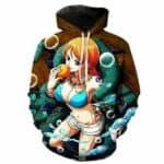 Boutique One Piece Sweat S Sweat One Piece Nami la Navigatrice