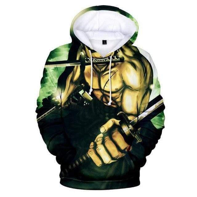Boutique One Piece Sweat XXS Sweat One Piece Zoro Dragon Slash
