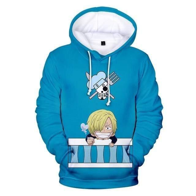 Boutique One Piece Pull XXXL Sweatshirt One Piece Cute Kawaii Sanji