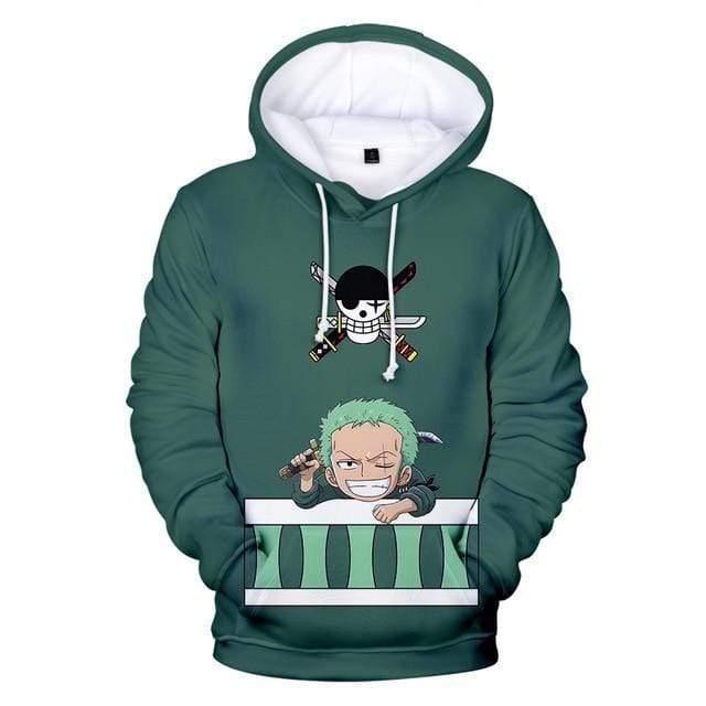 Boutique One Piece Pull 150 Sweatshirt One Piece Cute Roronoa