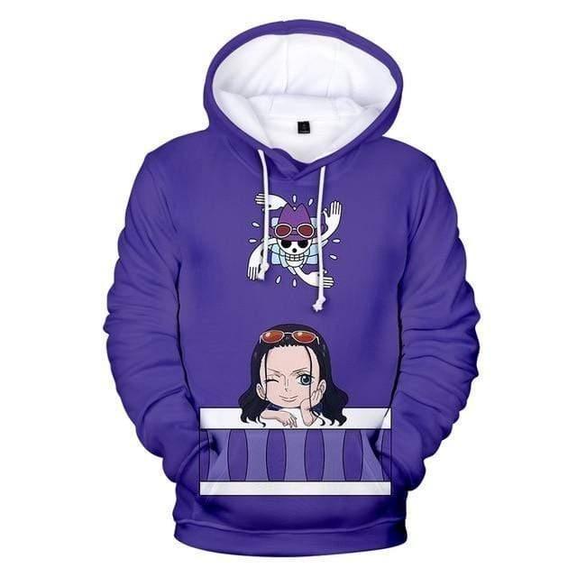 Boutique One Piece Pull 150 Sweatshirt One Piece Kawaii Nico Robin