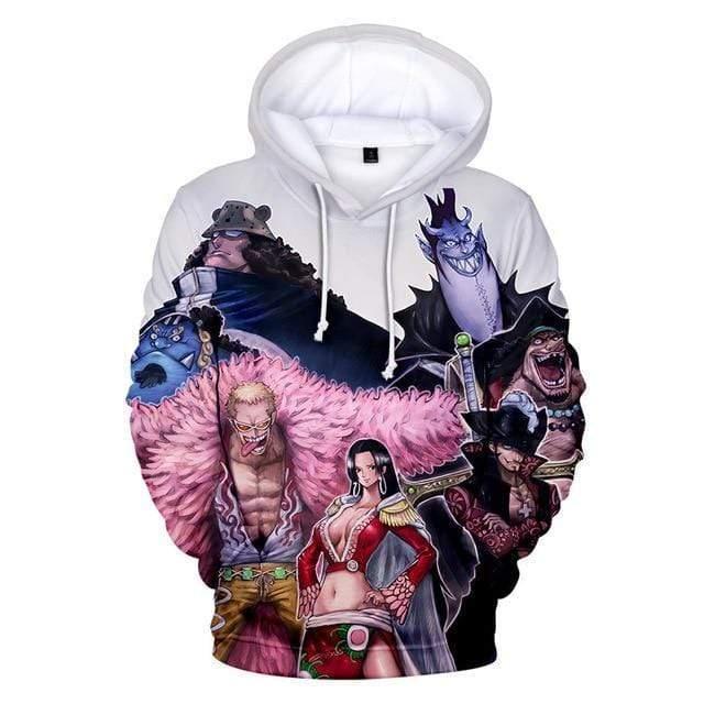 Boutique One Piece Sweat 4XL Sweatshirt One Piece Les 7 Grands Corsaire