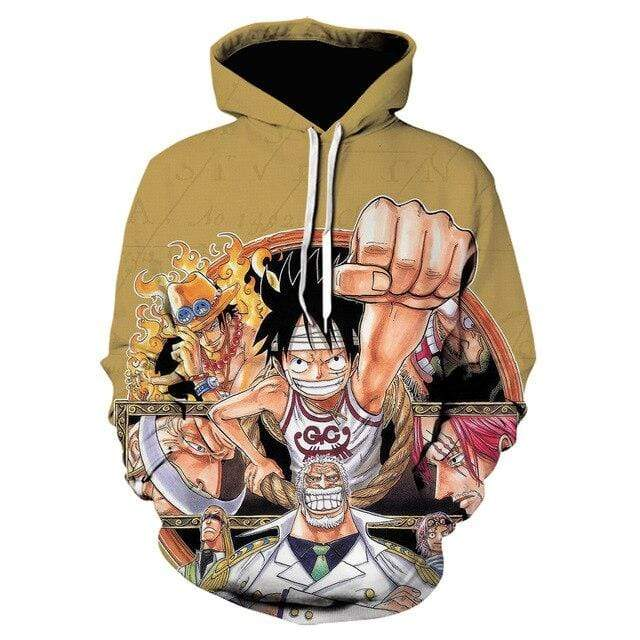 Boutique One Piece Sweat XXL Sweatshirt One Piece Marineford