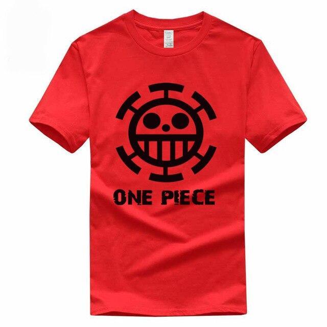 Boutique One Piece T-shirt S / Rouge / Logo Noir T Shirt Equipage de  Law One Piece