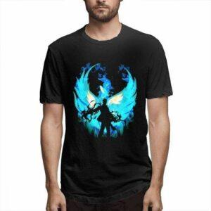 Boutique One Piece T-shirt Noir / L T Shirt L'Ombre De Marco Le Phoenix One Piece