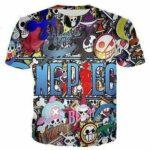 Boutique One Piece T-shirt XS T Shirt L'Univers One Piece