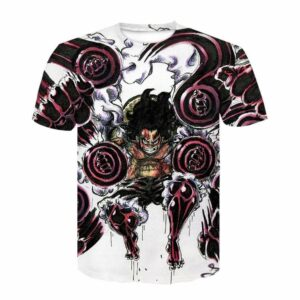 Boutique One Piece T-shirt XL T-shirt Luffy Snakeman