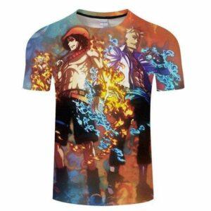 Boutique One Piece T-shirt S T-Shirt One Piece Ace et Marco