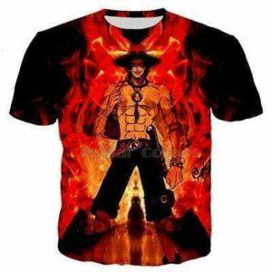 Boutique One Piece T-shirt XS T Shirt One Piece Ace Le Fils Du Roi