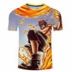 Boutique One Piece T-shirt S T-Shirt One Piece Ace le Frère de Sabo