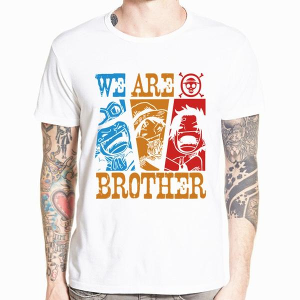 Boutique One Piece T-shirt xs T-Shirt One Piece Ace, Sabo, Luffy