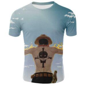 Boutique One Piece T-shirt 2XL T-Shirt One Piece Adieu Ace