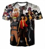Boutique One Piece T-shirt 2XL T-Shirt One Piece All Star