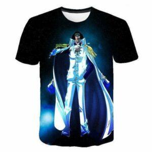 Boutique One Piece T-Shirt 4XL T-Shirt One Piece Aokiji Amiral de la Marine
