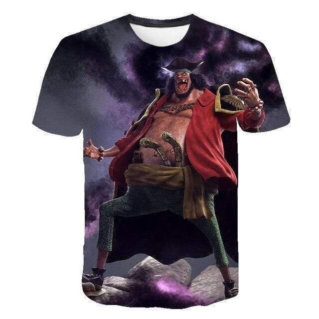 Boutique One Piece T-shirt 4XL T-Shirt One Piece Barbe Noire