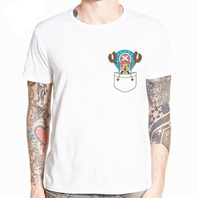 Boutique One Piece T-shirt S T-Shirt One Piece Chopper de Poche 2
