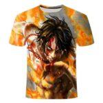 Boutique One Piece T-shirt M T Shirt One Piece Commandant De Barbe Blanche Portgas D Ace