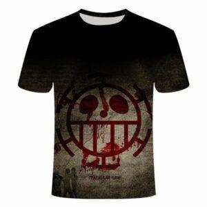 Boutique One Piece T-shirt M T Shirt One Piece Dark Law