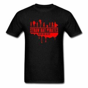 Boutique One Piece T-shirt Noir / 3XL T-shirt One Piece Dead Or Alive