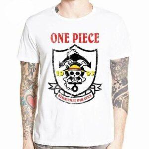 Boutique One Piece T-shirt XXXL T-Shirt One Piece Emblème de Pirate