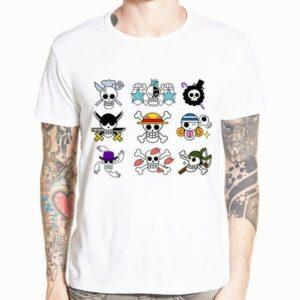 Boutique One Piece T-shirt xs T-Shirt One Piece Emblème des Mugiwaras