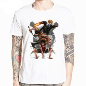Boutique One Piece T-shirt XXXL T-Shirt One Piece Fan Art Luffy Sanji et Zoro