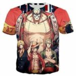 Boutique One Piece T-shirt XS T Shirt One Piece Franky Et Ses Nakama