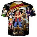 Boutique One Piece T-shirt S T Shirt One Piece L'Aventure Des Mugiwara