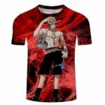 Boutique One Piece T-shirt S T-Shirt One Piece L'Homme Feu Ace