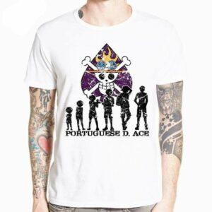 Boutique One Piece T-shirt L T-Shirt One Piece La Croissance de Ace