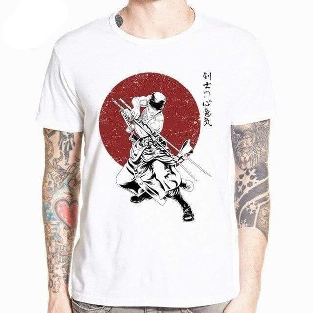 Boutique One Piece T-shirt XXXL T-Shirt One Piece La Légende De Zoro