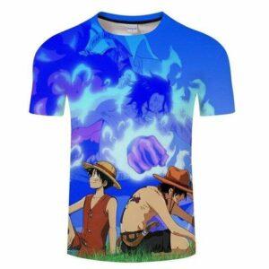 Boutique One Piece T-shirt S T-Shirt One Piece La Mort d'Un Grand Frère Ace