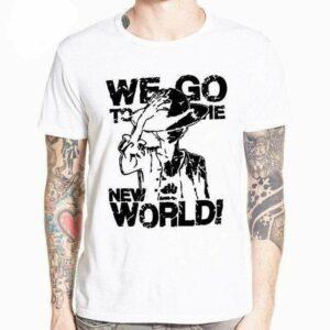 Boutique One Piece T-shirt XL T-Shirt One Piece La Route du Nouveau Monde