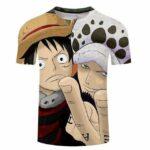 Boutique One Piece T-shirt 5XL T-Shirt One Piece Law et Luffy