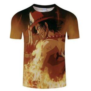Boutique One Piece T-shirt S T-Shirt One Piece Le Brulant Ace