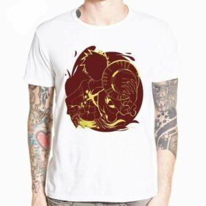 Boutique One Piece T-shirt XXL T-Shirt One Piece Le Capitaine Du Merry