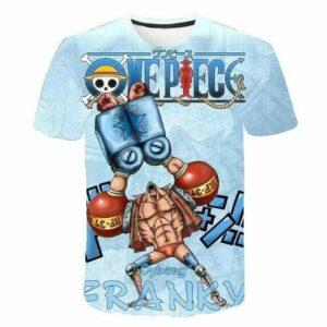 Boutique One Piece T-shirt XXS T-Shirt One Piece Le Cyborg Franky