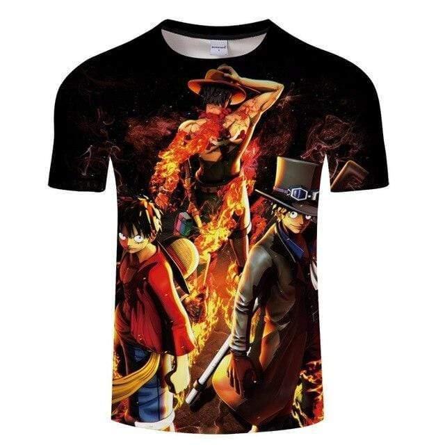 Boutique One Piece T-shirt S T-Shirt One Piece Le Lien Fraternel