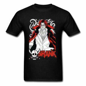 Boutique One Piece T-shirt Noir / XL T-shirt One Piece Le Roux Mentor De Luffy