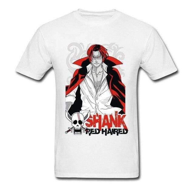 Boutique One Piece T-shirt Blanc / XXL T-shirt One Piece Le Roux Mentor De Luffy