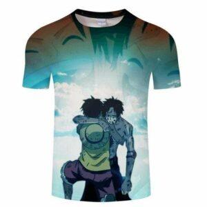 Boutique One Piece T-shirt S T-Shirt One Piece Le Sacrifice D'un Grand Pirate Ace