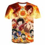 Boutique One Piece T-shirt S T Shirt One Piece Les Frères Du Mont Corvo