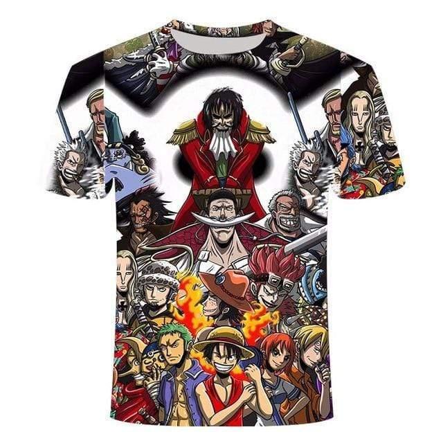 Boutique One Piece T-shirt 3XL T Shirt One Piece Les Plus Grand Pirates Du Monde